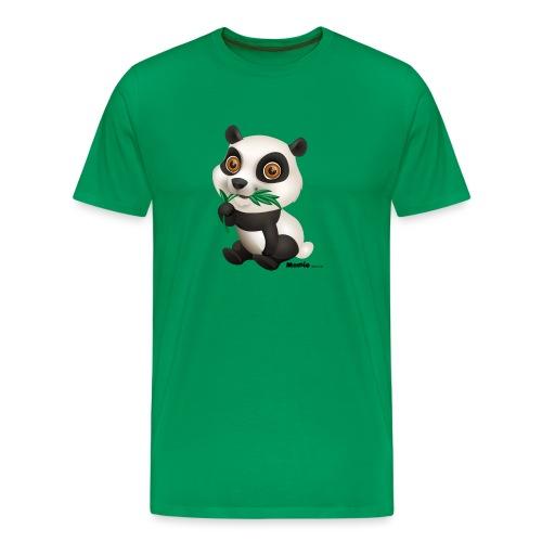 Panda - Herre premium T-shirt