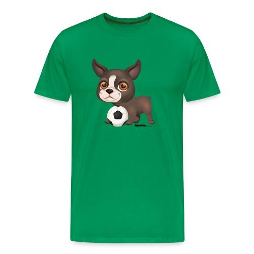 Hund - Herre premium T-shirt