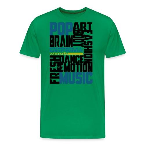 EntprimaT Shirt01 Pfade Black png - Männer Premium T-Shirt