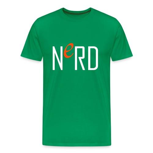 nerd - Mannen Premium T-shirt