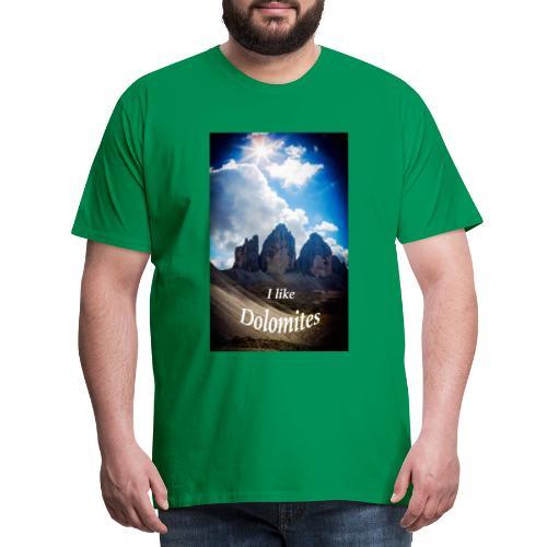 I like Dolomites Kopie - Männer Premium T-Shirt
