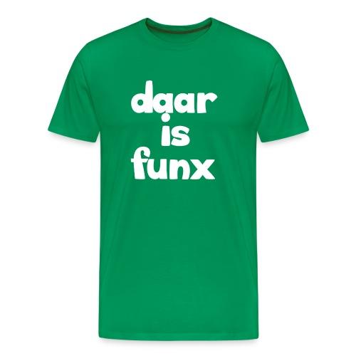 Pet DaarIsFunx - Mannen Premium T-shirt
