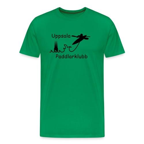 upk logga outlined - Premium-T-shirt herr