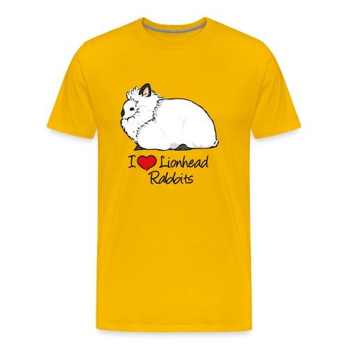 Lionhead 2 - Men's Premium T-Shirt