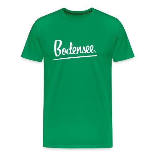 bodenseeschriftzugfinal - Männer Premium T-Shirt
