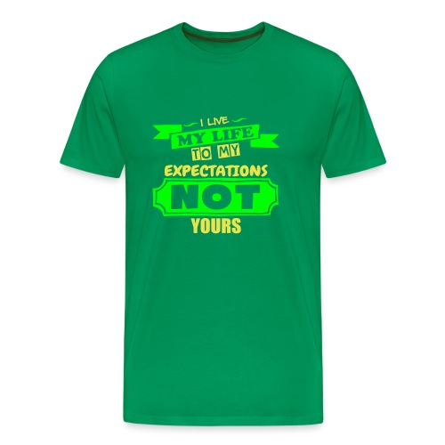 Live My Life - Men's Premium T-Shirt