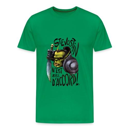 stevopasdaccord - T-shirt Premium Homme