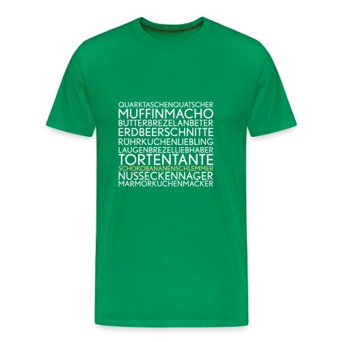butterbrezelbaggerer - Männer Premium T-Shirt