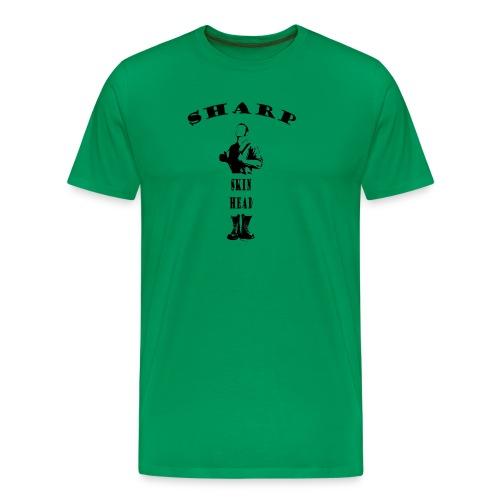 SHARP Skinhead - Men's Premium T-Shirt