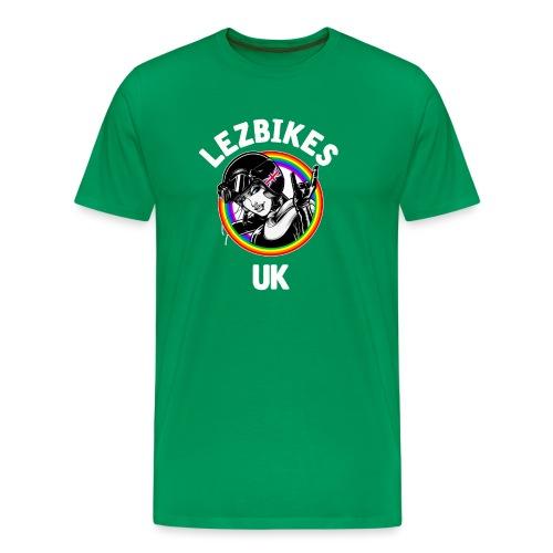 Lezbikes Logo - Men's Premium T-Shirt