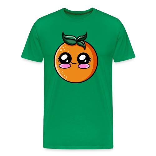 Orange Kawaii - T-shirt Premium Homme