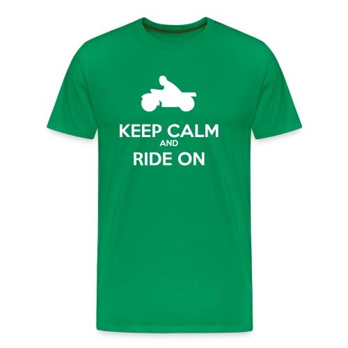 Keep Calm MC - Premium-T-shirt herr