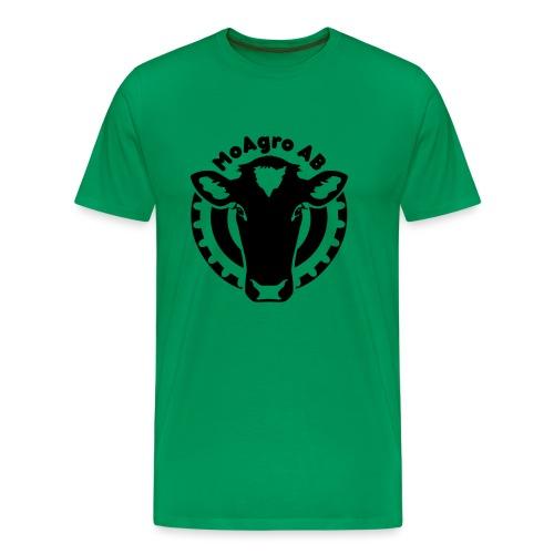 MoAgroABsvart - Premium-T-shirt herr