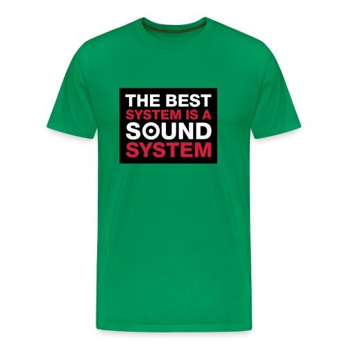 The Best System - Männer Premium T-Shirt