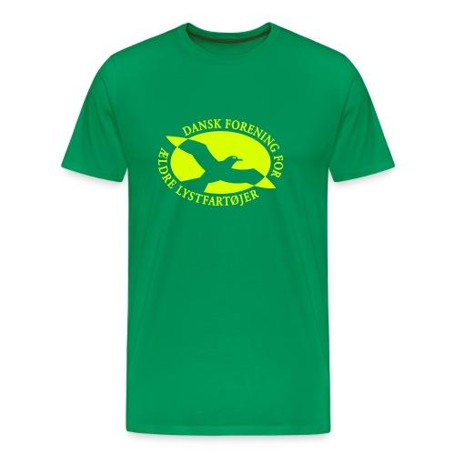 logo vector - Herre premium T-shirt