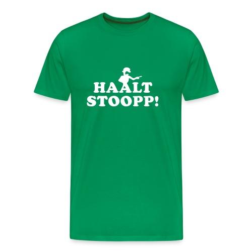 Halt Stopp - Männer Premium T-Shirt