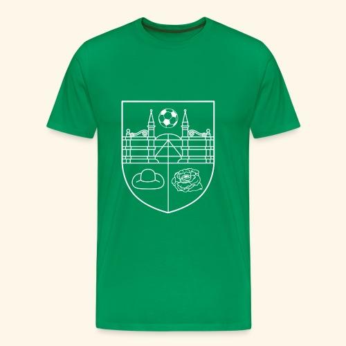 SV Wieckenberg Logo - Männer Premium T-Shirt