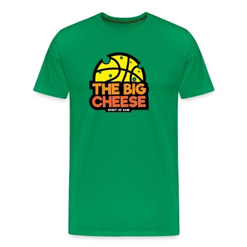The Big Cheese Logo - Men's Premium T-Shirt