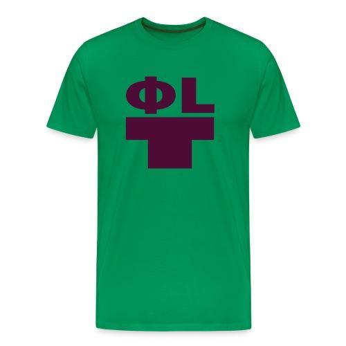 philt burgundy - Men's Premium T-Shirt