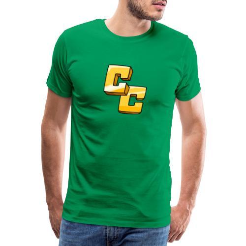 CapeCraft (CC) Logo - Men's Premium T-Shirt