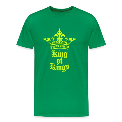 king_of_kings - Männer Premium T-Shirt