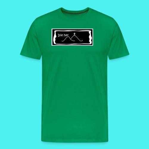 Crys T Isie Her - Men's Premium T-Shirt