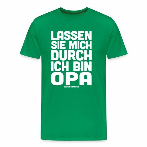 Opa - Männer Premium T-Shirt