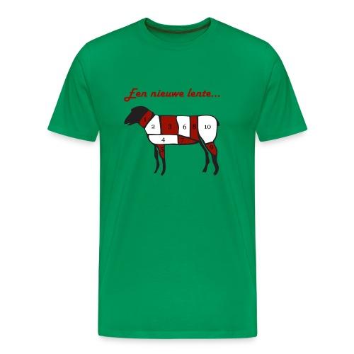 een nieuwe lente - Mannen Premium T-shirt