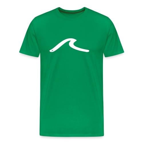 la vague multicolors - T-shirt Premium Homme