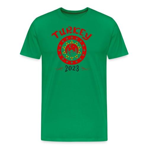 Tuerkei 2023 cp - Männer Premium T-Shirt