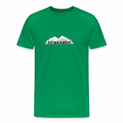 Kraxxeln - Männer Premium T-Shirt