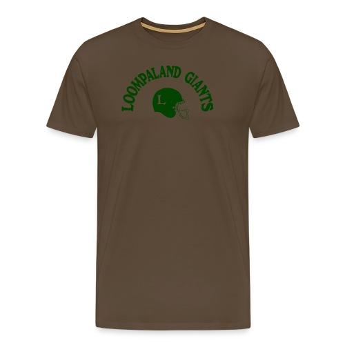 Willy Wonka heeft een team - Mannen Premium T-shirt