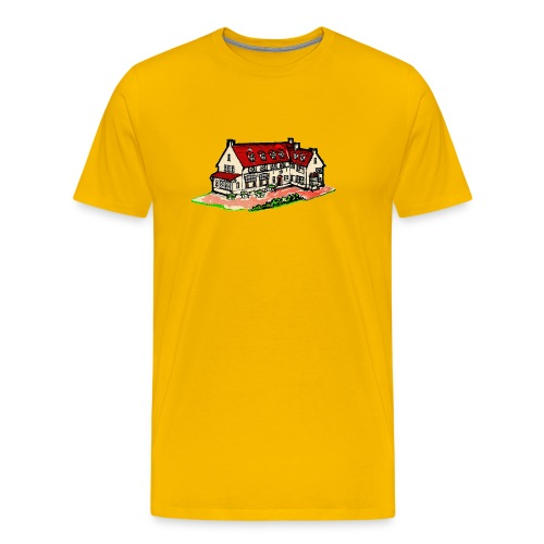 Waar u zich echt thuis gevoelt - Mannen Premium T-shirt
