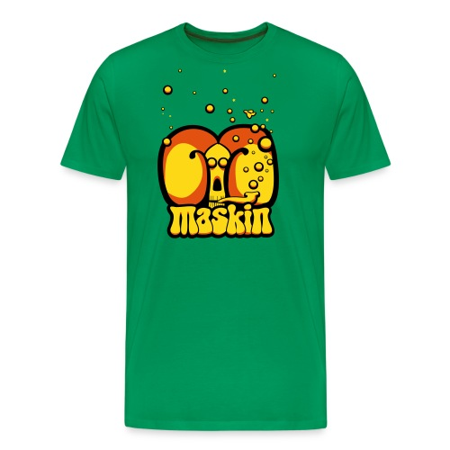 Maskin pipe - Premium-T-shirt herr