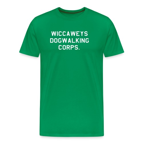 dogwalkingcorps - Men's Premium T-Shirt