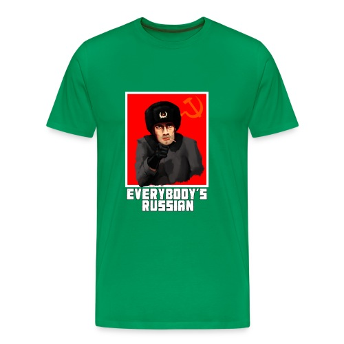everybodys russian - Men's Premium T-Shirt