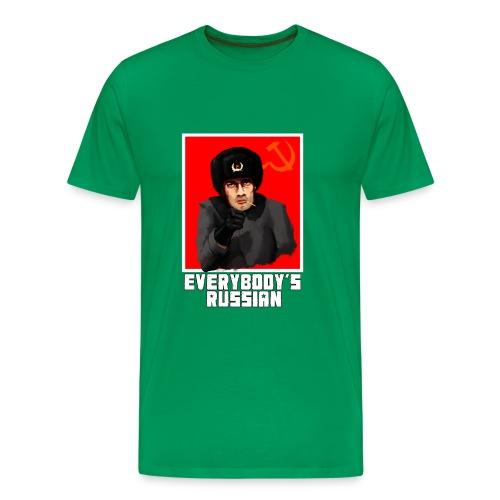 everybodys russian - Men's Premium T-Shirt