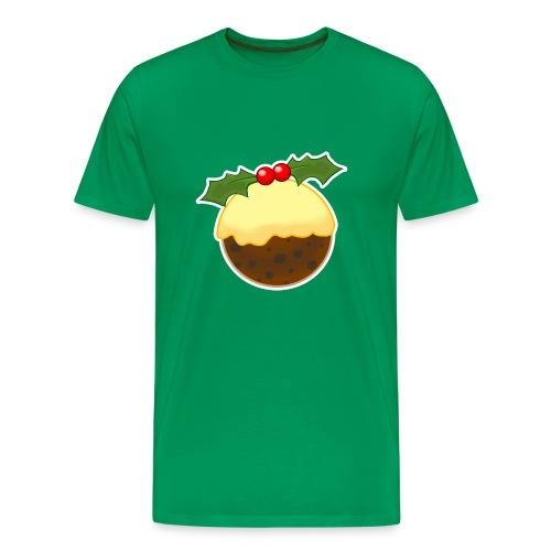 Christmas Pudding - Men's Premium T-Shirt