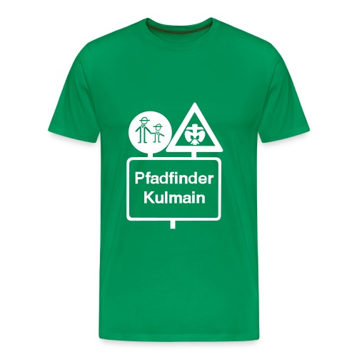 285 cm stammeslogo sw vektor - Männer Premium T-Shirt