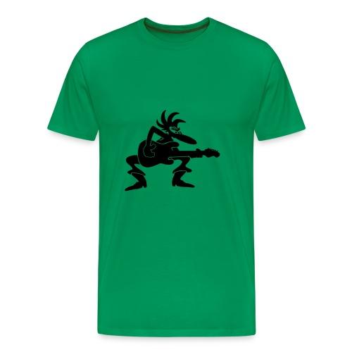 Guitarman Vol 1 - Männer Premium T-Shirt