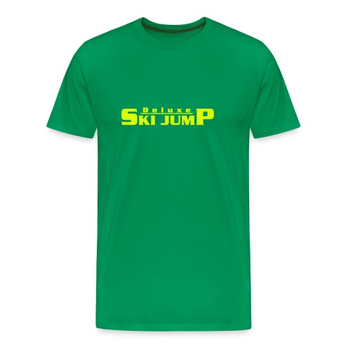 Deluxe Ski Jump - Men's Premium T-Shirt