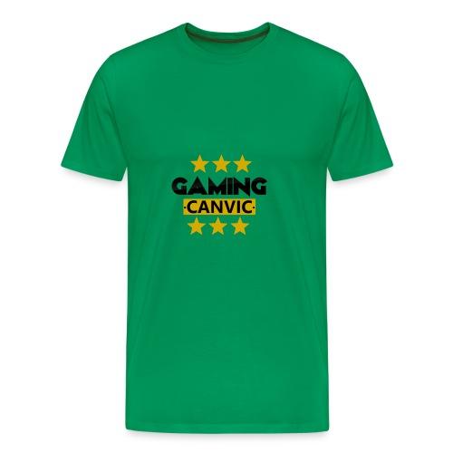 Gaming Canvic Stars - Männer Premium T-Shirt