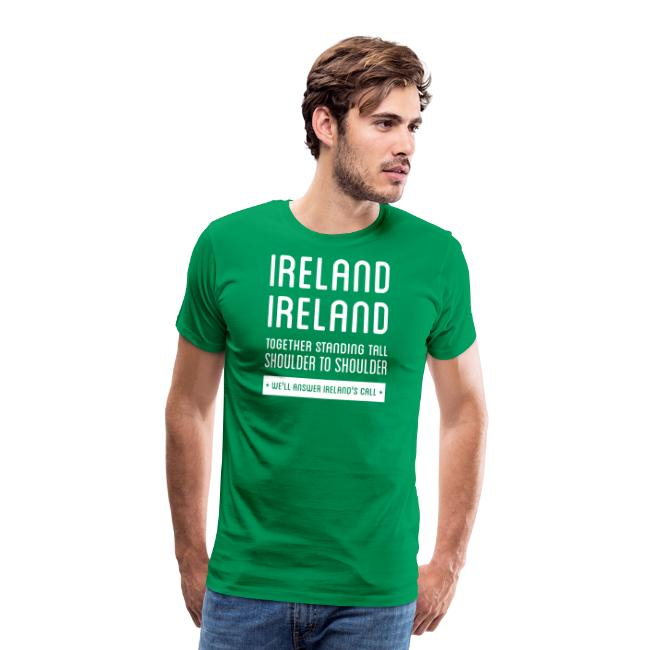 low priced 56113 0fd0d Ireland Rugby Anthem | Men's Premium T-Shirt