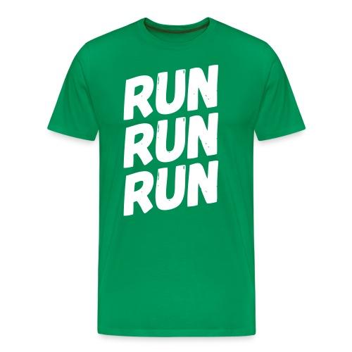 run run run - Männer Premium T-Shirt