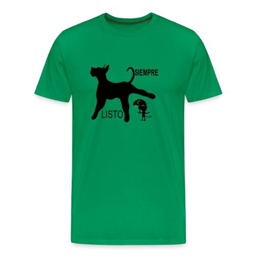 SIEMPRE LISTO - Camiseta premium hombre