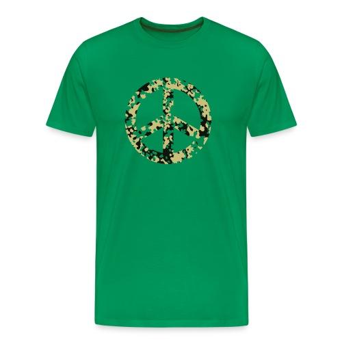 peace_sign_green - Men's Premium T-Shirt