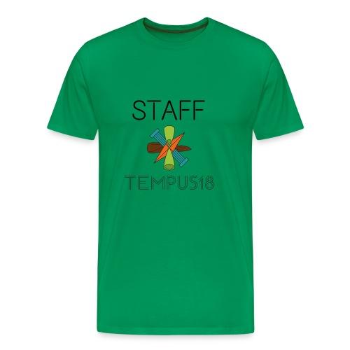 Staff värillinen - Miesten premium t-paita