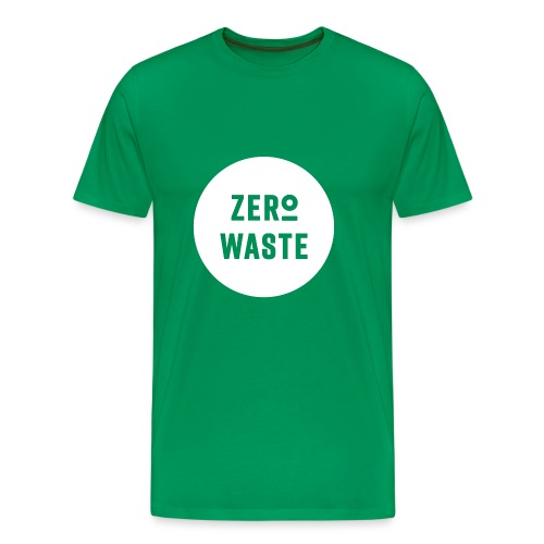ZERO WASTE - white - Men's Premium T-Shirt