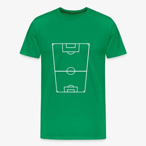 Fotbollsplan - Premium-T-shirt herr