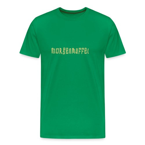 morgenmuffel2 - Männer Premium T-Shirt